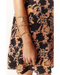 Vanessa Mooney | Metallic The Dolly Arm Piece Bracelet | Lyst