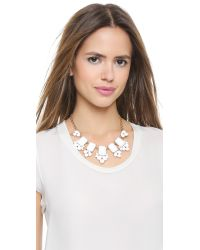 kate spade new york - Daylight Jewels Necklace - White - Lyst