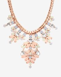 Ted Baker - Pink Pastel Statement Necklace - Lyst