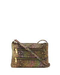 Hobo - Multicolor Mara Iridescent Snake-embossed Crossbody Bag - Lyst
