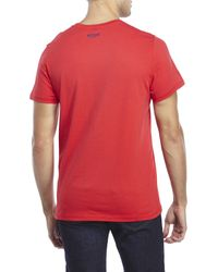 Moschino - Red Pool Rules Tee for Men - Lyst