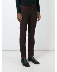 Incotex | Pink Corduroy Trousers for Men | Lyst