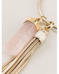 Isabel Marant - Metallic Sautoir Necklace - Lyst