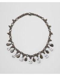 Bottega Veneta - Metallic Naturale Silver And Stones Necklace - Lyst