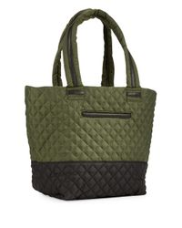 Steve Madden - Green Diamond Quilted Tote - Lyst