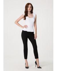 Bebe | Black Modal Skinny Pants | Lyst