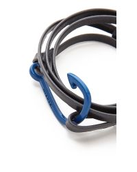 Miansai | Blue Hooked Leather Wrap Bracelet for Men | Lyst