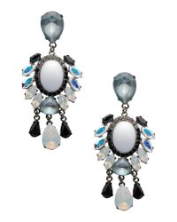 Vickisarge | White Earrings | Lyst