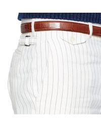 Polo Ralph Lauren - White Straight-Fit Striped Short for Men - Lyst