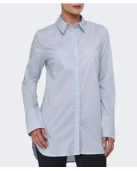 Gestuz   Blue Payson Plain Shirt   Lyst