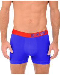 2xist | Blue 2(x)ist Men's Electric Core Boxer Briefs for Men | Lyst