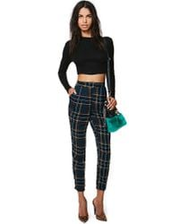 Nasty Gal - Black Minkpink As If Crop Sweater - Lyst