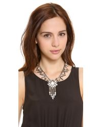 DANNIJO - Metallic Marie Necklace - Lyst