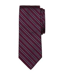 Brooks Brothers - Purple Textured Frame Stripe Tie for Men - Lyst