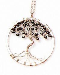 Nakamol | Multicolor Tree Of Life Pendant(small)-gunmetal | Lyst