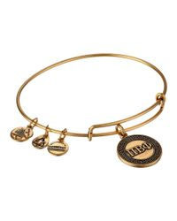 ALEX AND ANI | Metallic Pi Beta Phi Charm Bangle | Lyst