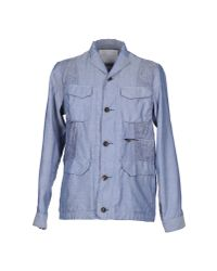 White Mountaineering - Blue Jacket for Men - Lyst