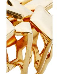 Ana Khouri | Metallic Libertine 18k Yellow Gold Ring | Lyst