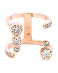 Carbon & Hyde | Pink 'Bubbledrop' Diamond Ring | Lyst