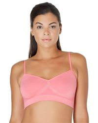 Yummie By Heather Thomson | Pink Audrey Seamless Day Bra | Lyst