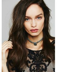 Free People | Metallic Hlsk Womens Vibiana Choker | Lyst