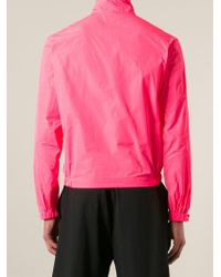 DSquared² - Pink Zipped Up Sport Jacket for Men - Lyst
