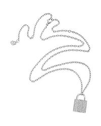Swarovski - Metallic Case Pendant - Lyst