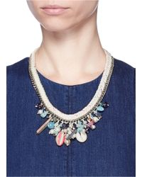 Venessa Arizaga - White 'sea Fairy' Necklace - Lyst