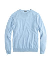 J.Crew | Blue Collection Cashmere Boyfriend Sweater | Lyst