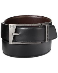 Under Armour | Black Reversible Faux-leather Golf Belt for Men | Lyst