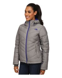 The North Face - Gray Destiny Down Jacket - Lyst