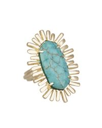 Kendra Scott | Blue Owen Cocktail Ring, Turquoise | Lyst