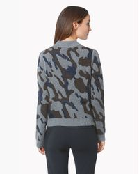 Veronica Beard - Green Rancho Hooded Sweater - Lyst