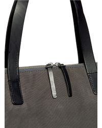 Seventy Eight Percent - Gray Eli Oversized Canvas Tote for Men - Lyst