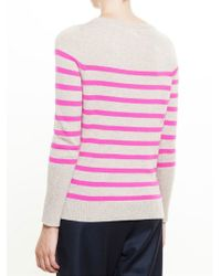 Chinti & Parker - Multicolor Striped Jumper - Lyst
