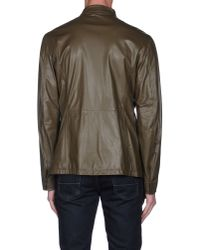 Armani - Green Jacket for Men - Lyst