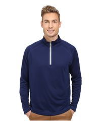 Tommy Bahama | Blue New Firewall Half Zip for Men | Lyst