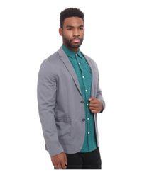 Original Penguin - Gray P55 Stretch Blazer for Men - Lyst
