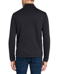 BOSS Blue Cotton Sweat Jacket: 'pizzoli 36' for men