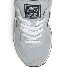 New Balance | Gray Classic 515 Lace-up Sneakers for Men | Lyst