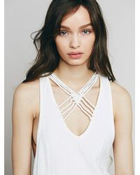 Free People - White One And Only Tank - Lyst
