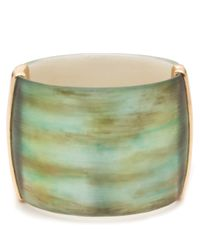 Alexis Bittar - Metallic Desert Jasmine Wide Hinged Bracelet You Might Also Like - Lyst