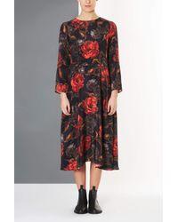 TOPSHOP | Multicolor Garden Floral Dress By Boutique | Lyst