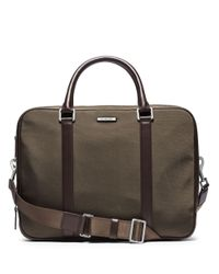 Michael Kors | Green Large Expandable Briefcase for Men | Lyst