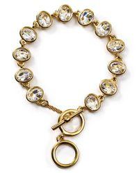 Carolee - Metallic Monaco Moments Link Bracelet - Lyst