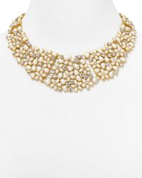 kate spade new york | Natural Mini Bouquet Collar Necklace, 18"