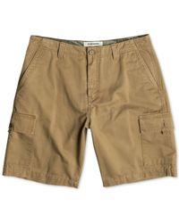 Quiksilver | Metallic Everyday Cargo Shorts for Men | Lyst