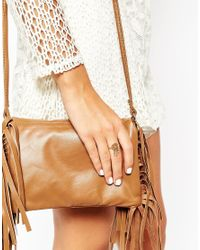 ASOS - Metallic Mini Dreamcatcher Ring - Lyst