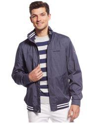 Tommy Hilfiger - Blue Regatta Jacket for Men - Lyst