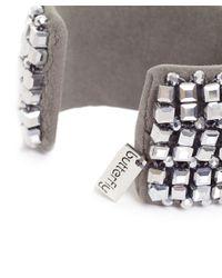 Butterfly - Metallic Glacier Cuff Bracelet - Lyst